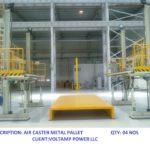 Air Caster Metal Pallet