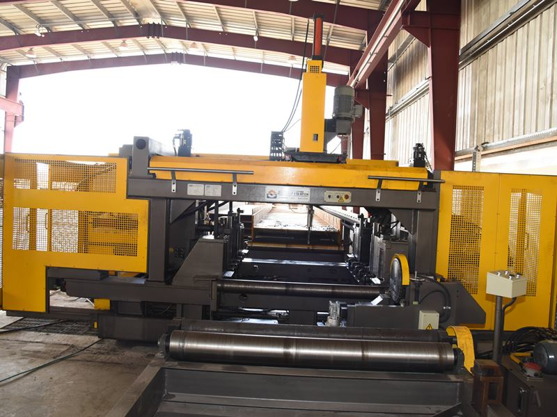 CNC Plate Drilling Machine full view