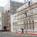 Epoxy Painting works in Al Shafaq Club