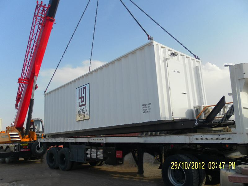 Fabrication & Supply of Containerized cabins for Rig site