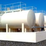Fabrication & erection of Aviation fuel storage tanks at Musannah