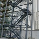 Fabrication & erection of Structural Staircase
