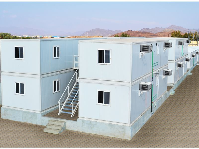 Modular Multi Storey Accommodation at Sumail