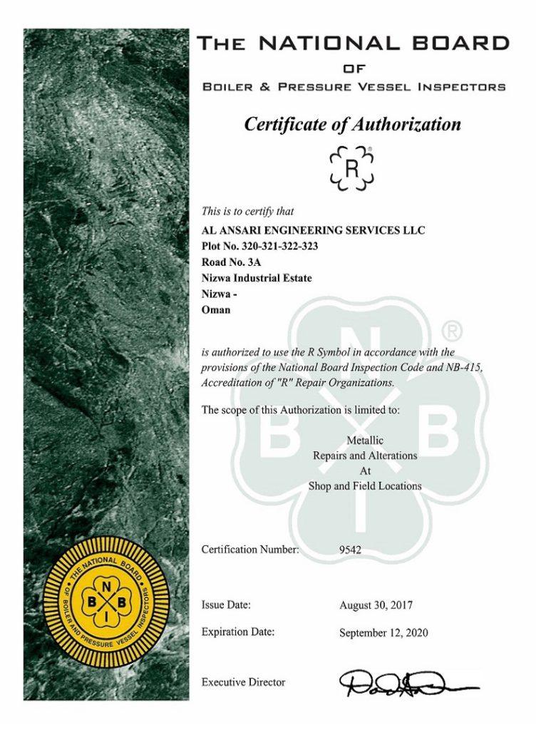 NB-Certificate