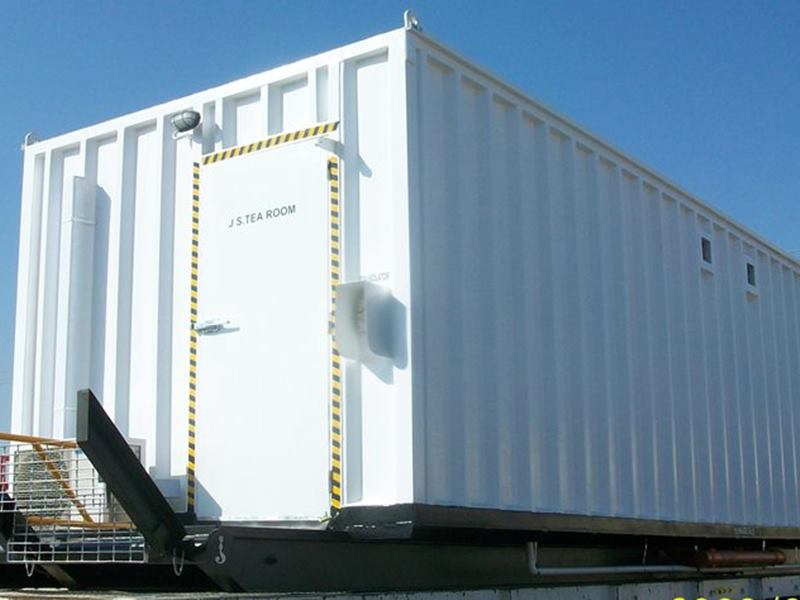 Steel Container cabins for Rig site